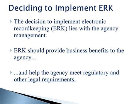 design criteria standard for electronic records management electronic records management an overview