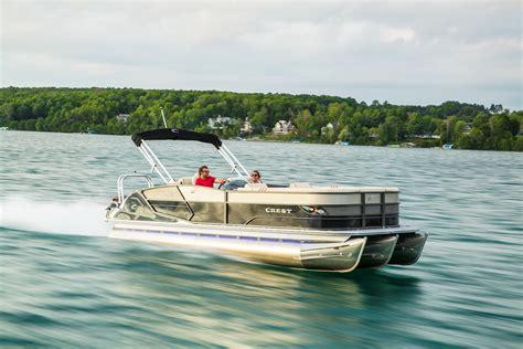 pontoon boats llc crest pontoons archives pontoon boats