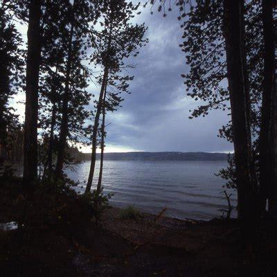 fishing  lewis lake  yellowstone park usa today