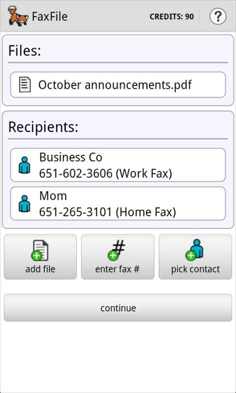 fax from android faxfile send fax from phone android apps on play