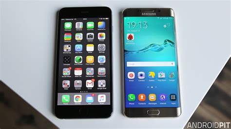 galaxy s6 vs iphone 6s comparison the ultimate rivalry androidpit