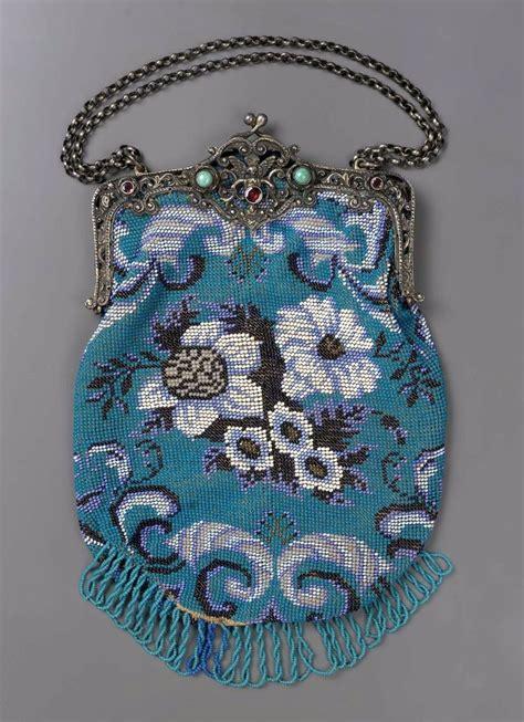 beadwork bag rags beadwork bag ca 1850 80 europe mfa