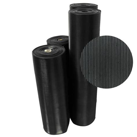 quot corrugated rib quot rubber runner mats the rubber