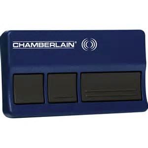 Garage Door Opener Remote Battery Chamberlain Chamberlain 953d Garage Door Opener Walmart