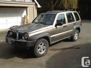 Diesel Jeep Liberty For Sale Jeep Liberty Diesel Ladysmith For Sale In