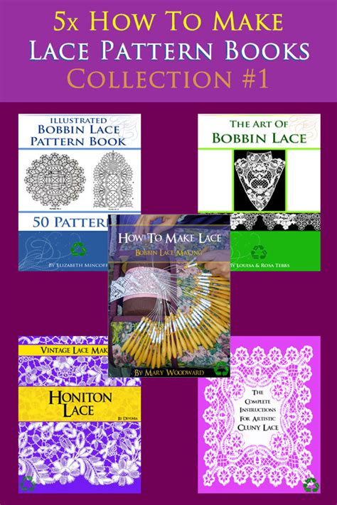 pattern making books free download new collection of 5 x rare vintage how to make lace