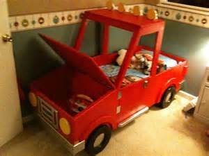 Toddler Boy Truck Bed Items Similar To Boys Toddler Truck Bed On Etsy