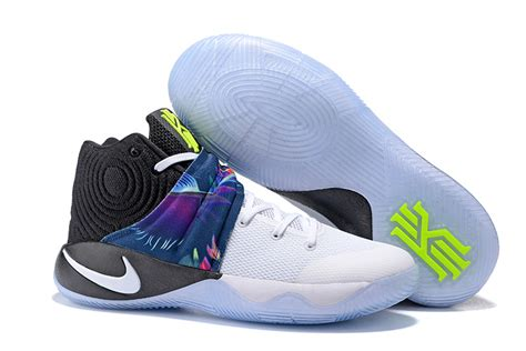 Nike Kyrie Irving 2 White Blue cheap nike kyrie irving 2 basketball shoes black blue