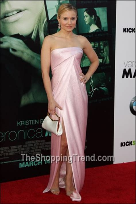 Get Look Kristen Bells Behnaz Sarafpour Dress 2 by Kristen Bell In J Mendel Mars La Premiere