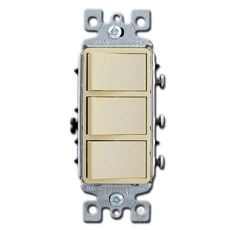 light switch covers 3 toggle 1 rocker ivory combo three decora rocker light switches kyle