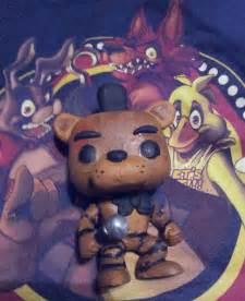 Freddy fazbear pop figure by bloodyhorrible on deviantart