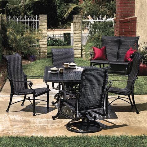 Grand Terrace Patio Furniture by Grand Terrace Wicker Sling Dining