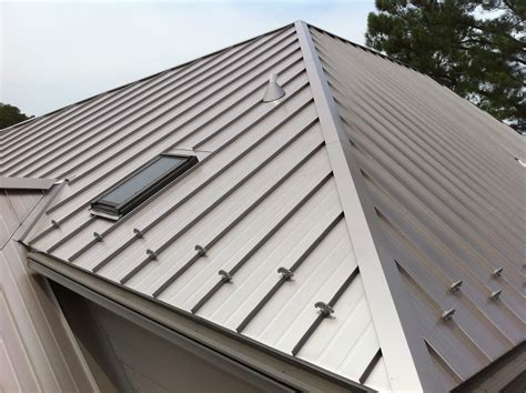 types of metal roofing standing seam metal roof types