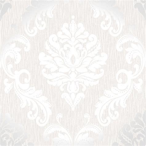 wallpaper design white henderson interiors chelsea glitter damask wallpaper white