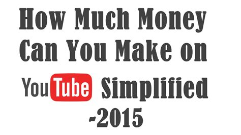 How Much Will You Make With Mba From League by How Much Do Youtubers Make Or Earn From 2015