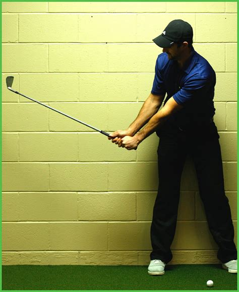what starts the golf swing swing test