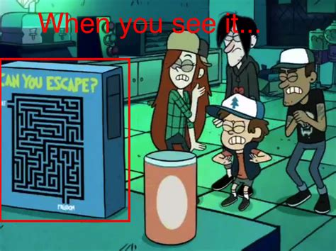 Funny Gravity Falls Memes - can you escape gravity falls know your meme
