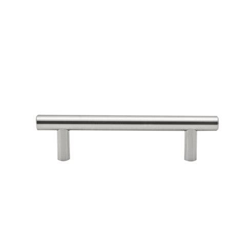 Bunnings Cabinet Handles by Ikonic 96mm Brushed Nickel T Handle 10 Pack Bunnings