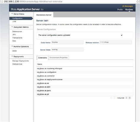 jboss admin console c 243 mo instalar jboss rm rf es