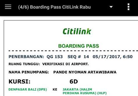 citilink boarding pass pande baik 187 blog archive 187 terbang lagi ke jakarta