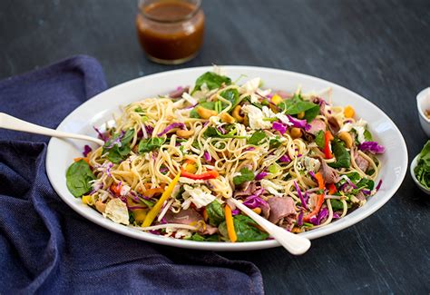 Todays Special Asian Beef Noodle Salad by Think Outside The Sandwich Enhance Your Next Salad A