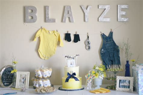 Minion Baby Shower Decorations by Sparkle Pretty A Minion Is On His