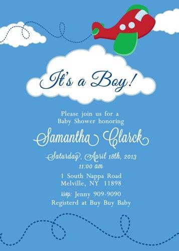 Airplane Baby Shower Invitations Dolanpedia Invitations Template Airplane Baby Shower Invitation Templates