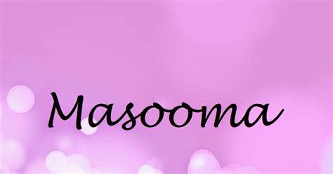 masooma name wallpapers masooma name wallpaper urdu name