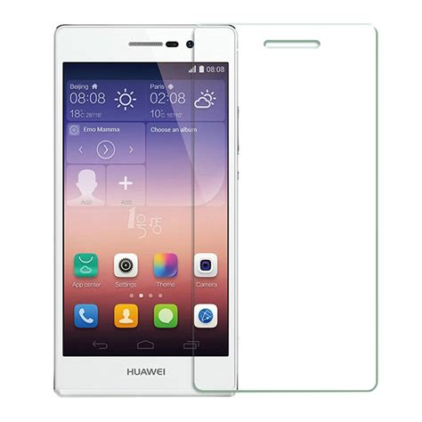Tempered Glass For Huawei P7 tempered glass huawei ascend p7 screen protector 綷