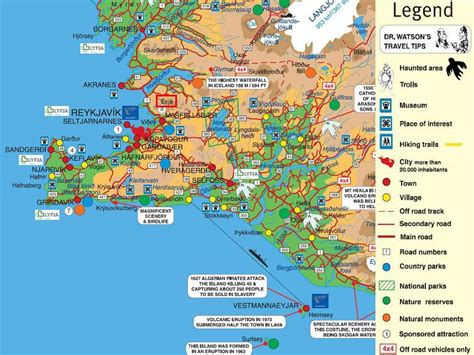 map iceland large reykjavik maps for free and print high
