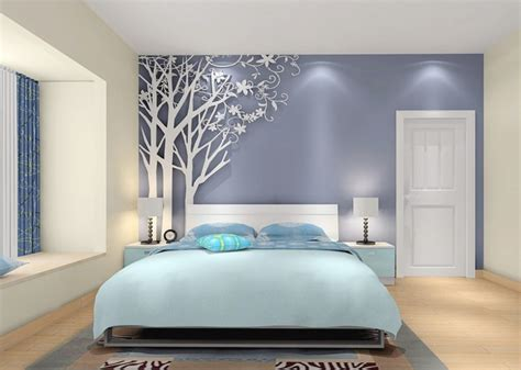 bed room design 3d rendering of modern bedroom design