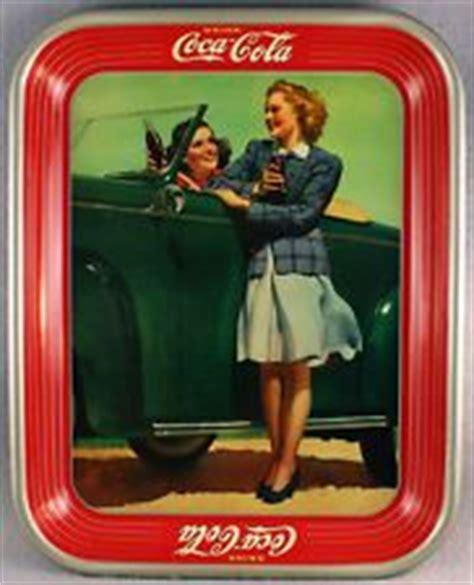 chris sullivan coca cola coca cola vintage trays on pinterest