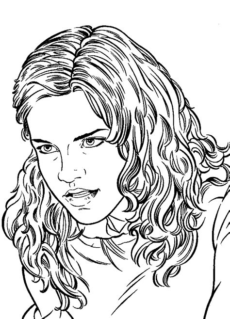 harry potter coloring pages ginny weasley harry potter coloring page harry potter love pinterest
