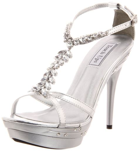 cheap silver heels for prom heels me