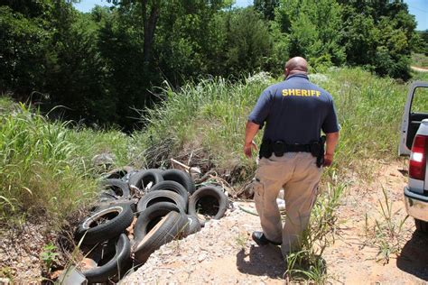 better than digging ditches except the pay and benefits aren t as books state funded trash cop helps clean up lincoln county