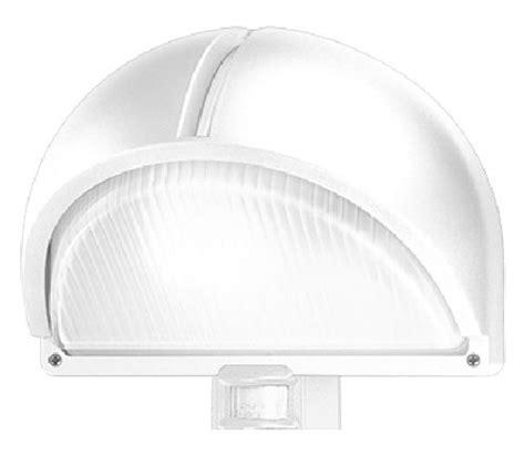 prisma illuminazione esterna prisma 007711 plafoniera polo 2 detek bianco e27 75w con