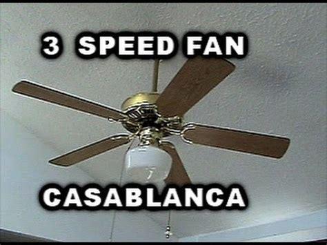 Ceiling Fan Speed Not Working Ceiling Fan 3 Speeds Home By Casablanca