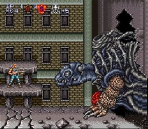 emuparadise contra contra iii the alien wars usa rom