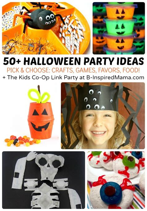 37 halloween party ideas crafts favors games treats 50 kids halloween party ideas