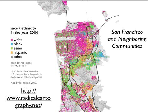 san francisco race map san francisco geocurrents