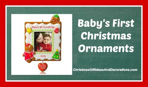 amazon hallmark 2014 babys 1st christmas one cute baby s first christmas ornaments top 5 sellers from