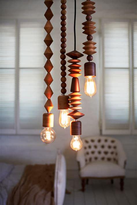 wood bead light fixture bright beads wooden ls by marz designs design milk
