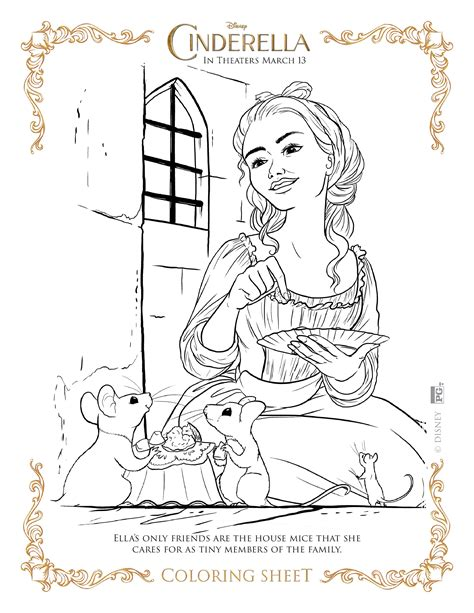 love story coloring pages enchanted love story of a simple girl cinderella 17