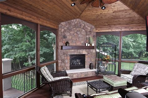 Three Season Porch Plans by Four Amp Three Season Porch Gallery Pictures Amp Designs