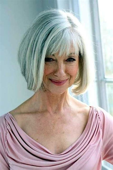 hairstyles grey 45 nice bob haircuts for older ladies bob hairstyles 2015