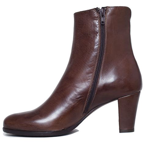 brown high heel ankle boots high heel ankle boot brown