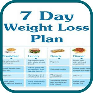 a weight management plan is based on 7 day meal plan to lose weight day program