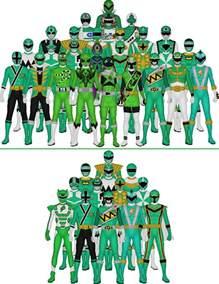 Super Sentai Power Rangers Greens Taiko554 Deviantart