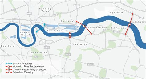 thames river crossing no the thames is not too wide to build new river