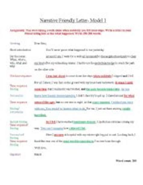 Formal Letter Igcse Model Descriptive Friendly Letter For Igcse Esl